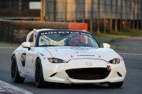Luc de Cock - Mazda MX-5 Cup racer