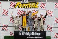 Podium race 1 Spa Racing Festival