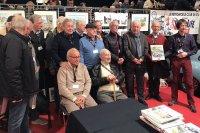 Voorstelling van het boek 'Histoire d'un rallye hors normes' in aanwezigheid van enkele oud-deelnemers
