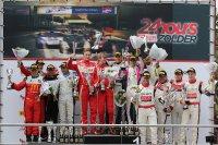 Algemeen podium Eleven Sports 24 Hours of Zolder 2017