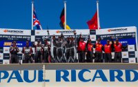 Podium 24H Circuit Paul Ricard 2016