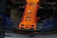 Nieuwe neus voor de McLaren