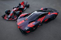 Red Bull RB15 & Aston Martin Valkyrie