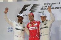 Hamilton - Vettel - Bottas