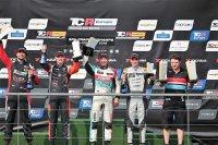 Podium Race 1 TCR EU Spa