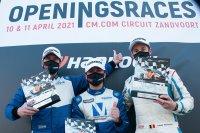Podium race 1 Ford Fiesta Sprint Cup Belgium