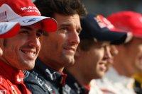Na de voorlaatste race is Alonso de WK-leider, voor Webber en Vettel