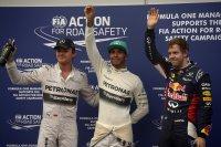 Rosberg - Hamilton - Vettel