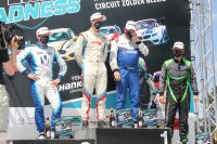 Podium race 2 Ford Fiesta Sprint Cup Be