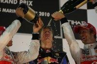 Sebastian Vettel viert zijn eerste titel