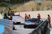 Pech voor de WRT Audi van ondermeer Frédéric Vervisch