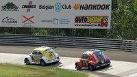 Luca Vernole (#8 Team Wave Italy) en Julien Schein (#2 DRM Motorsport)