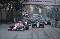 Start F2 sprintrace Monaco 2019