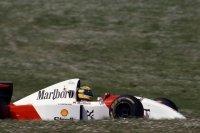 Ayrton Senna werd vierde - Spa 1993