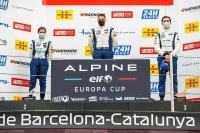 Podium 2021 Alpine Elf Europa Cup Barcelona race 1