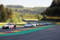 Race 1 Porsche GT3 Cup Challenge Benelux en Porsche Carrera Cup France