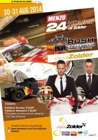 24 Hours of Zolder 2014