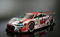 Optie 1 voor de livery van de WRT Audi R8 LMS GT3
