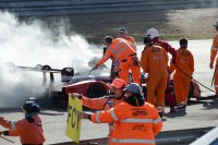 Brand bij de Deldiche Racing by JTB - Norma M20 FC