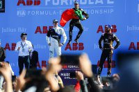 Podium 2020 Marrakesh E-Prix