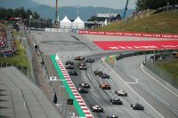 Start sprintrace Formule 2 Spielberg