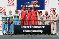 Spa Euro Race: Podium Belcar 2