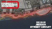 Jeddah Street Circuit layout