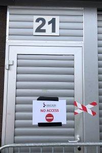 De pitbox van Algarve Pro Racing blijft dit weekend gesloten