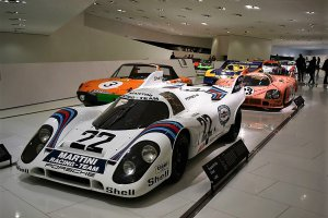 The Porsche Museum in beeld gebracht