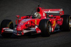 Ferrari Corse Clienti op Spa-Francorchamps