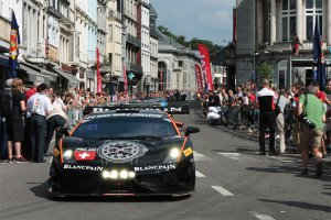 24H Spa: De parade naar Spa