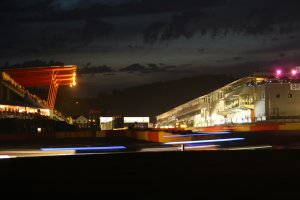 24H Spa: De nacht valt over het circuit