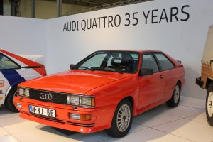 Tentoonstelling Autoworld Brussels: 35 jaar Audi quattro