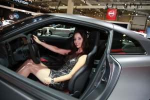 European Motor Show Brussels 2016: Hostessen & Merchandising