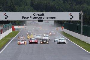 Spa Euro Race in beeld gebracht
