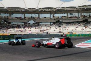 Abu Dhabi: De actie op zaterdag in beeld