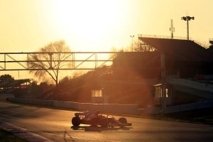 F1 wintertesten Barcelona: dag 1