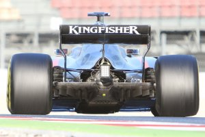 F1 wintertesten: Close-up's en technische details
