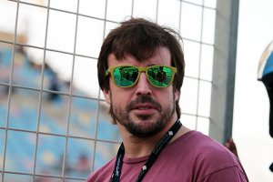 Fernando Alonso test ook LMP2-auto