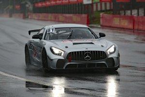 QSR Racing Mercedes-AMG GT4 rijdt eerste meters