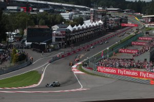 F1 in Spa-Francorchamps bijna uitverkocht