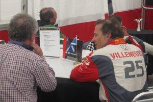 """Villeneuve: """"Wat Vettel deed was niet netjes, maar mooi om te zien."""""""