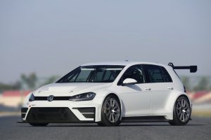 Drie VW's Golf in de TCR Benelux 2016 !