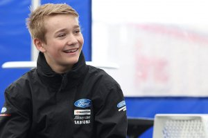 Rentree Billy Monger in de autosport stap dichterbij