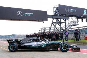 Formule 1-team Mercedes onthult de opvolger van de W08