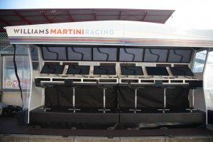 Williams F1 Pitmuur