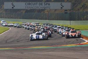 Voorbereiding start 2017 ELMS 4 Hours of Spa