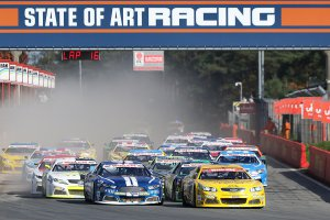 Start American Finals Zolder NASCAR Whelen Euro Series Elite 1 Race 1