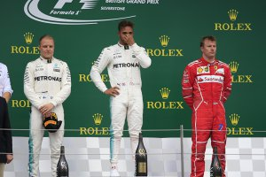 Kimi Raikkonen - Lewis Hamilton - Valtteri Bottas