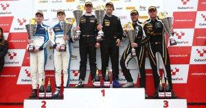 Podium race 1 Oulton Park